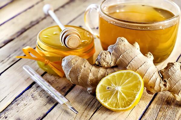 Имбирь, мед и лимон от вирусных инфекций