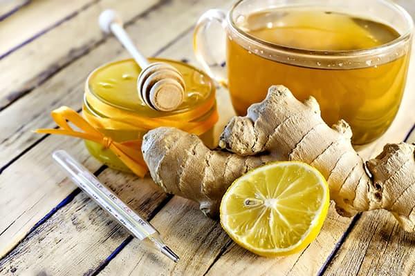 Имбирь, лимон и мед для укрепления иммунитета